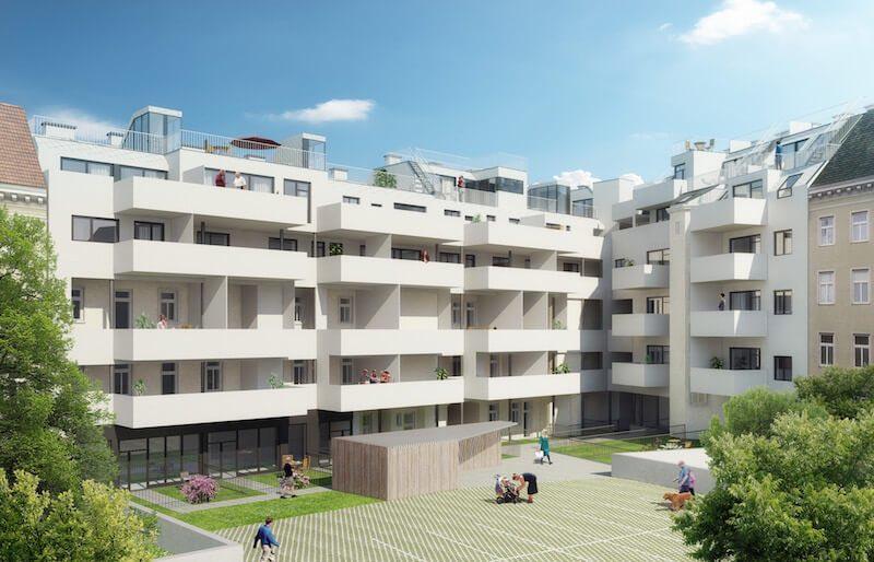 Wohnungen zu verkaufen Wien Viktoriagasse Schantl ITH Immobilientreuhand