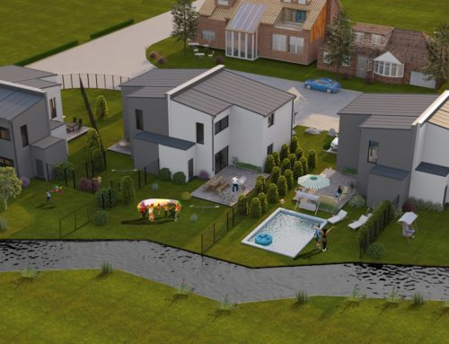 Tolle Doppelhaushälften am Wasser