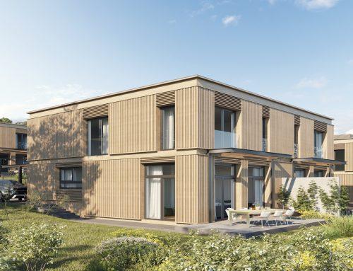 Stylisches Wohnen mit 3D-Fassade